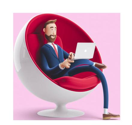دوره نرم افزار های حسابداری business man billy acountant 3d illustration