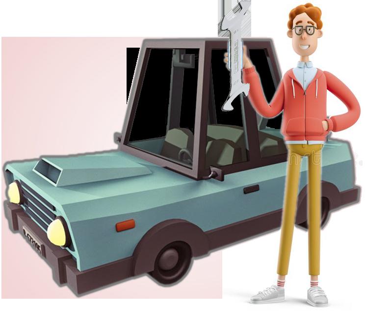 دوره تون آپ بهبود عملکرد ماشین خودرو و بهبود سیستم جرفه mechanic nerd larry and car